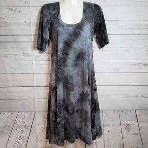 Karen Kane Tie Dye Tee Shirt Midi Dress M